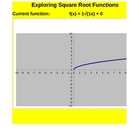 Square Root Function Exploration