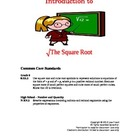 Square Roots Introduction Lesson Plan
