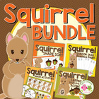 Squirrel and Acorn Bundle:  Fall Activities for Preschool and ECE