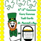 St. Patrick's Day 4th-5th Common Core Commas Task Cards!
