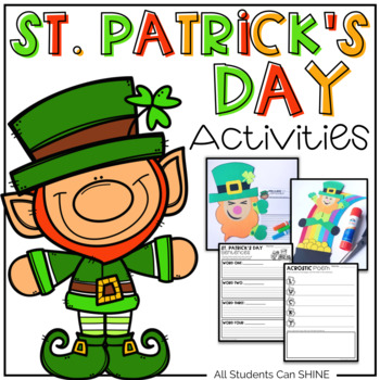 St. Patrick's Day Activity Pack *With Craftivities*