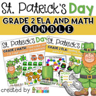 St. Patrick's Day Centers ~ Math and Language Arts Bundle