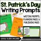 St. Patrick's Day Common Core Writing: Opinion, Informativ
