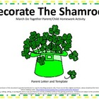 St. Patrick's Day Do Together Parent/Child Homework Shamro
