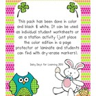St Patricks Day & Easter Word Search Pack