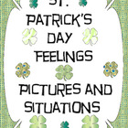 St. Patrick's Day Feelings - Picture and Situation Cards