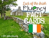 Fluency Task Cards {St. Patrick: Luck of the Irish Facts}