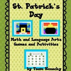 St. Patrick's Day Games and Activities for Math and Language Arts