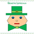 St. Patrick's Day Geometric Leprechaun