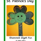 St. Patrick's Day Glyph Shamrock Fun