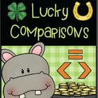 St. Patrick's Day:  Great than, Less than, Equal, Comparison
