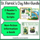 St. Patrick's Day: Informational e-book plus fun Reader's Theatre