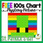 {FREE} St. Patrick's Day Leprechaun Hat Hundreds Chart Mys