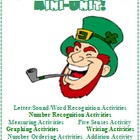 St. Patrick's Day Leprechaun Mini Unit Math Reading Writin