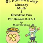 St. Patrick's Day Literacy, Math & Creative Fun