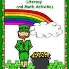 St. Patrick's Day Literacy and Math Ideas