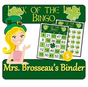 http://www.teacherspayteachers.com/Product/St-Patricks-Day-Luck-of-the-Irish-Bingo-30-Unique-Cards-1116635