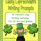 St. Patrick's Day Lucky Leprechaun's Writing Prompts for 1