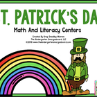 St. Patrick's Day Math And Literacy Fun!  A Common Core Al