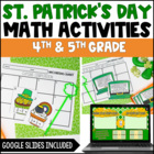 St. Patrick's Day Math Centers: Fractions {Common Core Aligned}