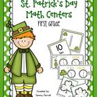 St. Patrick's Day Math Centers for 1st Grade