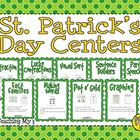 St. Patrick's Day Math and Word Work Centers