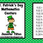 St. Patrick's Day Mathematics Centers-Common Core