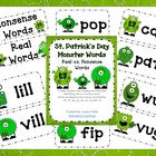 St. Patrick's Day-Monster Words-Real vs. Nonsense