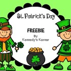 St. Patrick's Day Place Value BINGO!  FREEBIE  Grades 1-2