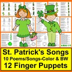 St. Patrick's Day | Poems, Songs & Finger Puppets For Shar
