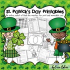 St. Patrick's Day Printables: Black-line Masters for Immed
