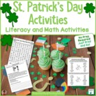 St. Patrick's Day Printables: Not Just for the Sub Tub!