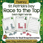 St. Patrick's Day Race to the Top- Sight Words