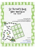 St. Patricks Day Short Vowel Game for Kiga - Grade 1