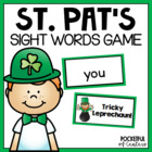 St. Patrick's Day Sight Word Bang! Game