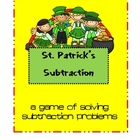 St. Patrick's Day Subtraction Game