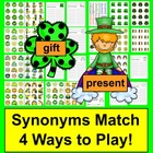 St. Patrick's Day Literacy Centers: Synonyms - 60 Pairs -