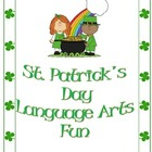 St. Patrick's Day Themed Langague Arts Packet
