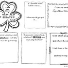St. Patrick's Day Think Book Sample Page
