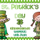 St. Patrick's Day Unit Plan for Early Learners