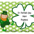 St. Patrick's Day Word Problems - Common Core