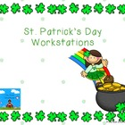 St. Patrick's Day Workstations- 2nd Grade Common Core Aligned