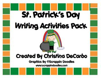 St. Patrick's Day Writing Activities Pack!