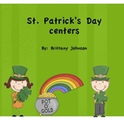 St. Patrick's Day literacy unit