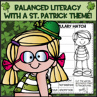 St. Patrick's Day...Reading, Writing, Word Work, Math and
