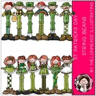 St Patricks String Beans bundle by Melonheadz