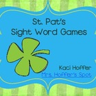 St. Pat's Sight Word Games