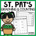 St. Patty's Day Cube Roll Printable Math Game