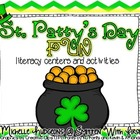 St. Patty's Day Fun {literacy centers and activities PLUS