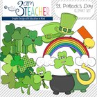 St. Patty's Day Graphics Collection (55 graphics color & B/W)